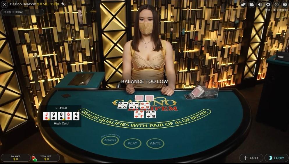River Belle Casino Live Poker