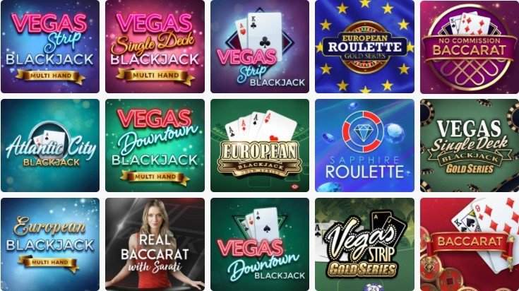 Ruby Fortune Casino Automated Casino Table Games
