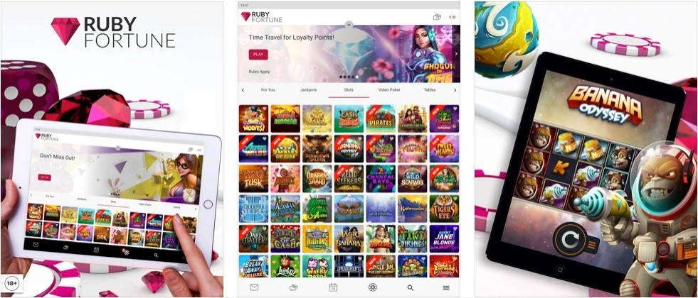 Ruby Fortune Casino Mobile Play