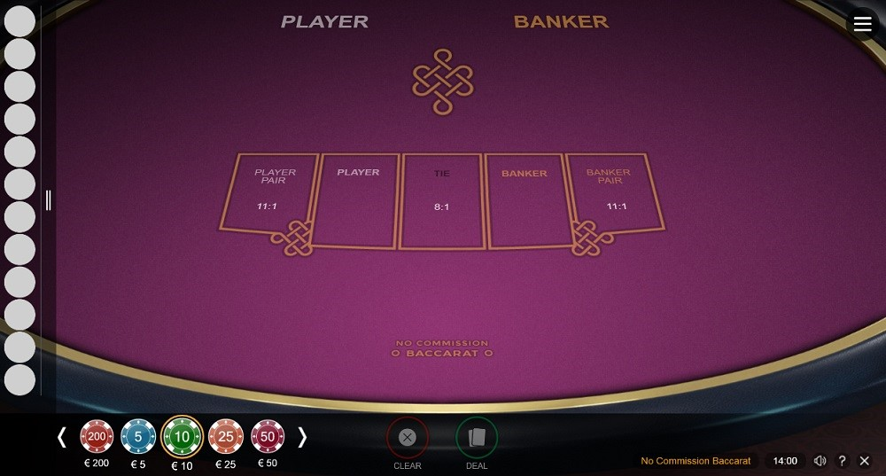 Simple Casino Automated Baccarat