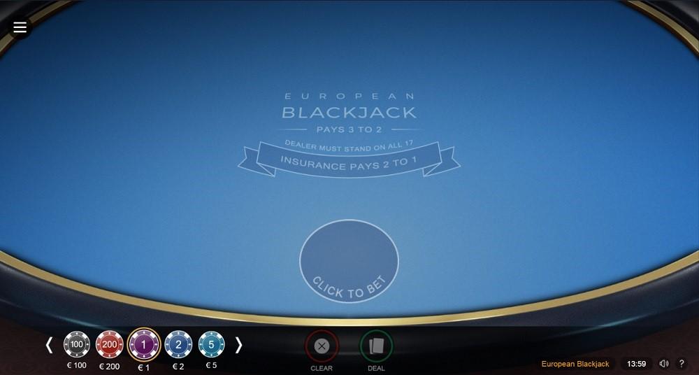 Simple Casino Automated Blackjack