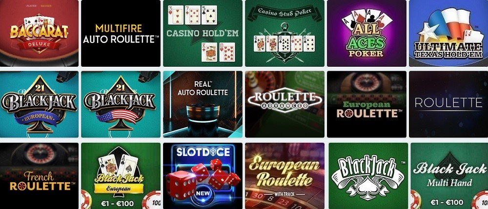 Simple Casino Automated Casino Table Games