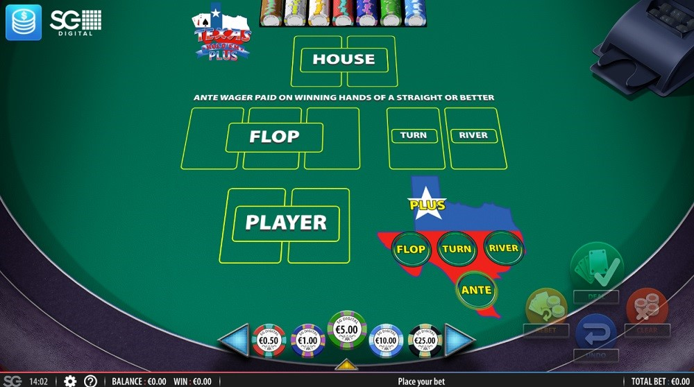 Simple Casino Automated Poker