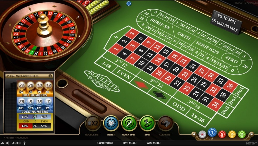 Simple Casino Automated Roulette