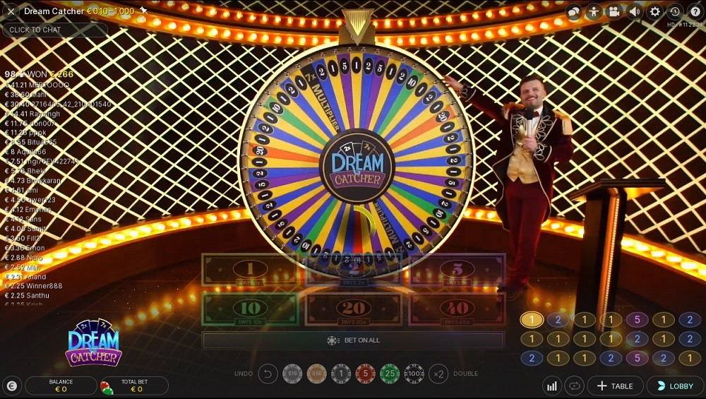 Simple Casino Live Game Show