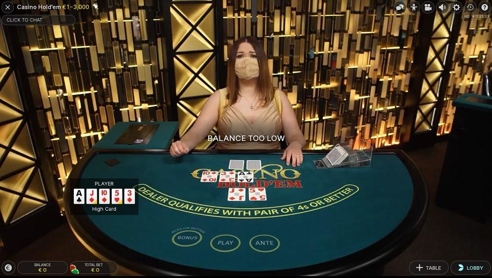 Simple Casino Live Poker