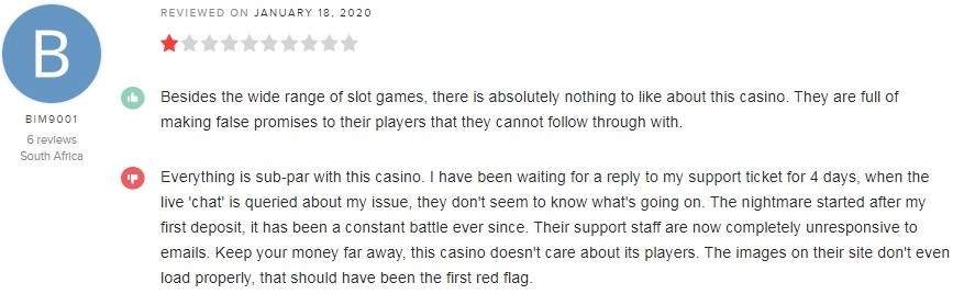 Simple Casino Player Review