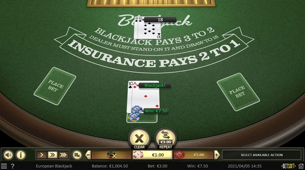 Slotv Casino Automated Blackjack