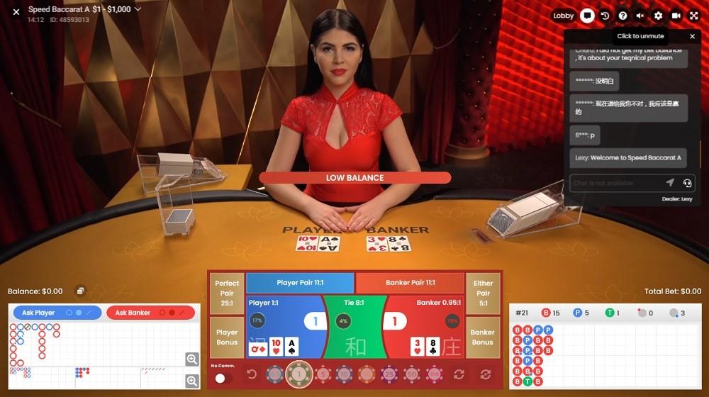 Slotv Casino Live Baccarat