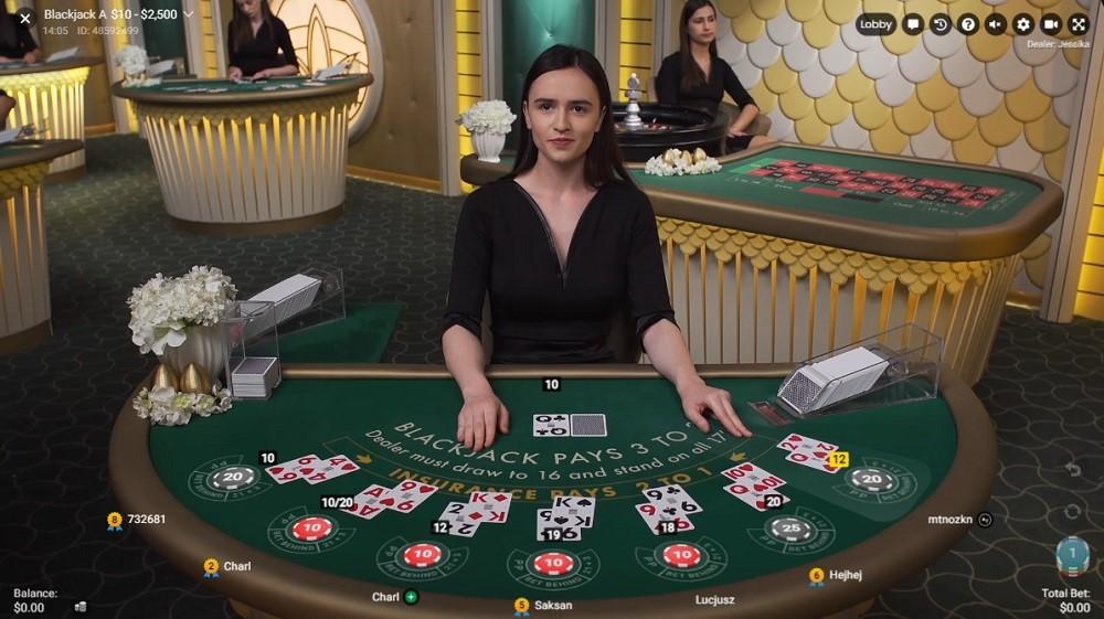Slotv Casino Live Blackjack