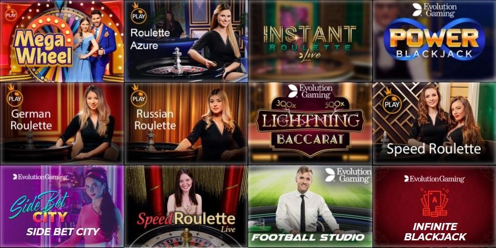 Slotv Casino Live Casino Games