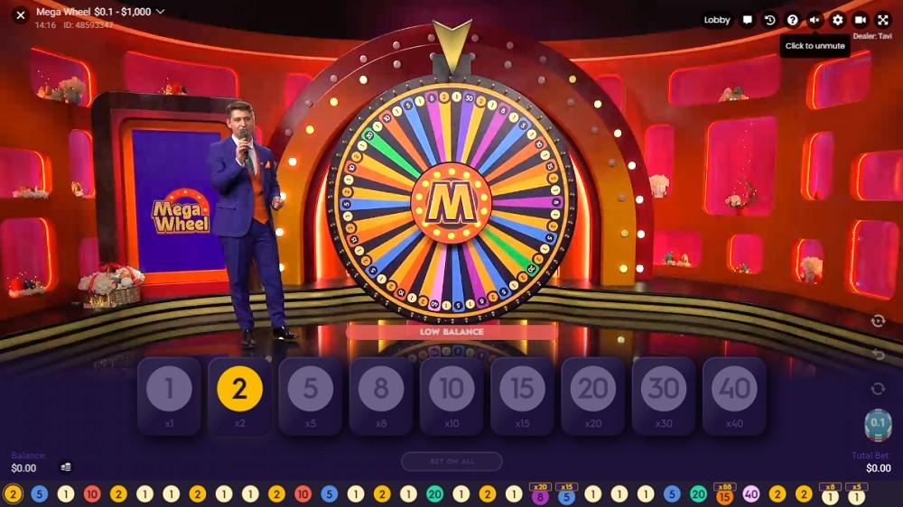 Slotv Casino Live Game Show