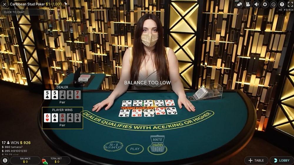 Slotv Casino Live Poker