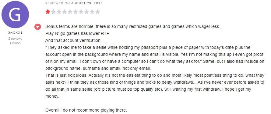 Slotv Casino Player Review 3