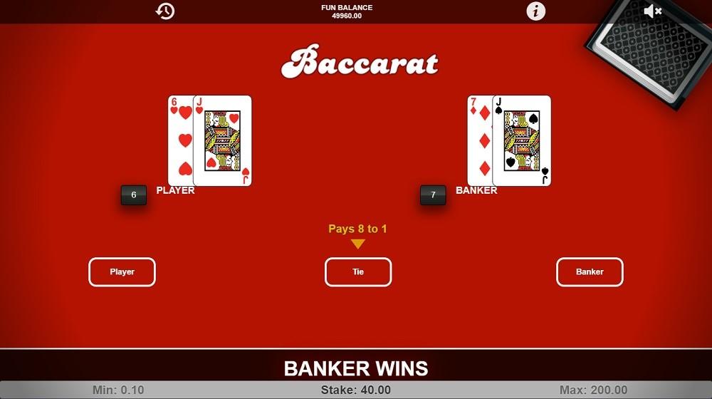 Syndicate Casino Automated Baccarat