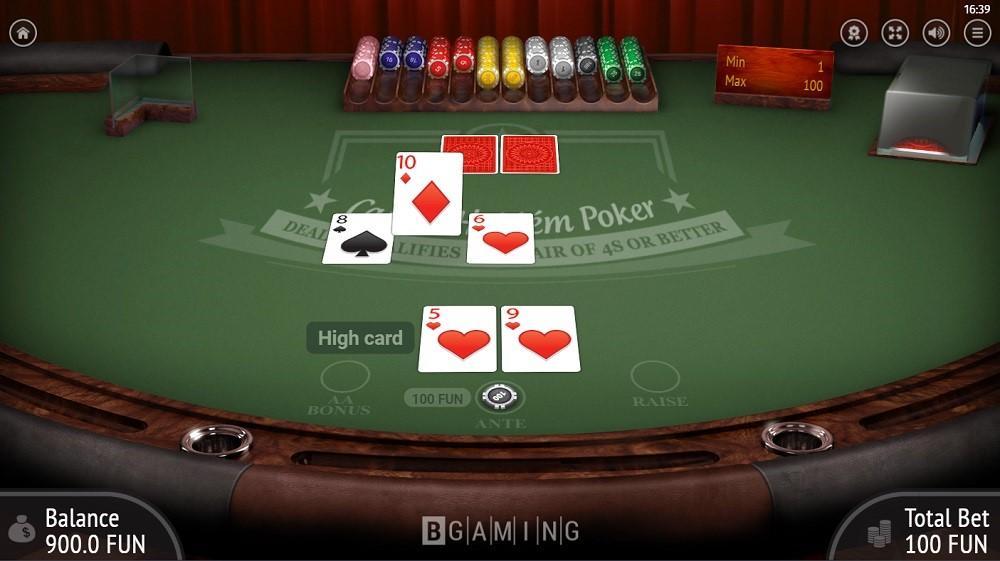Syndicate Casino Automated Poker