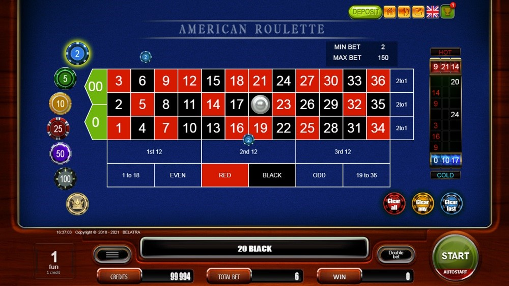 Syndicate Casino Automated Roulette