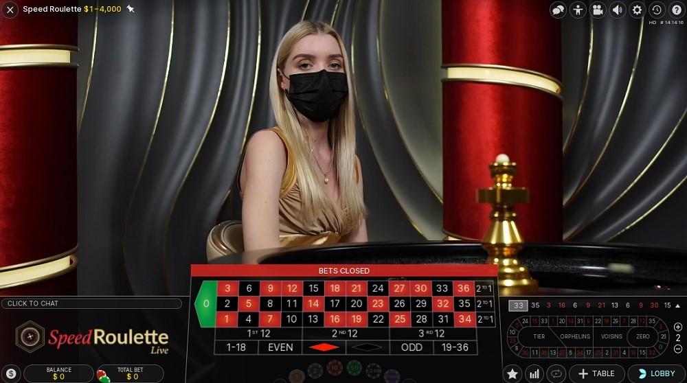 Syndicate Casino Live Roulette