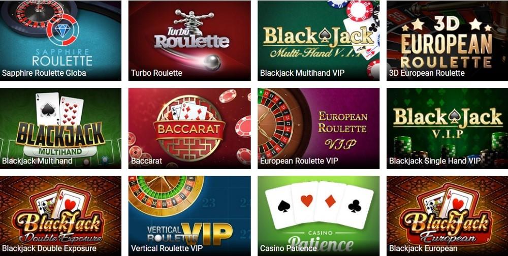 TradaCasino Automated Casino Table Games
