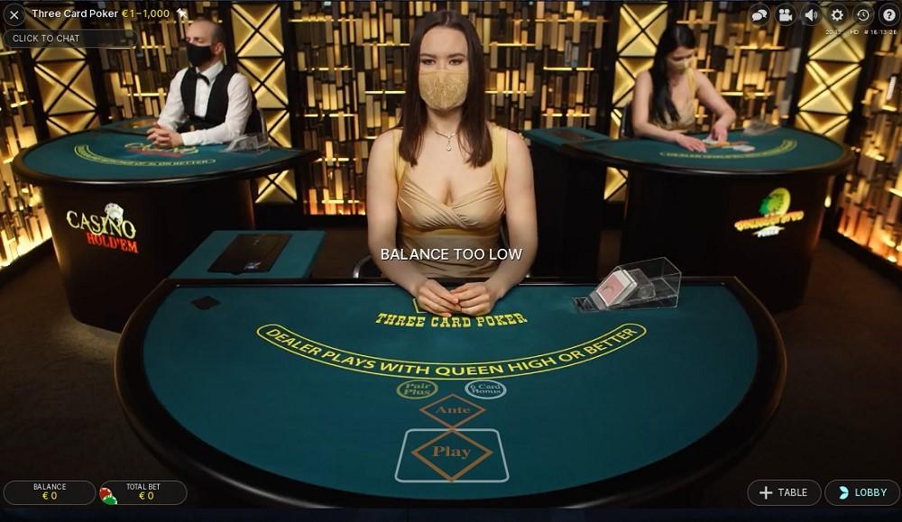 TradaCasino Live Poker