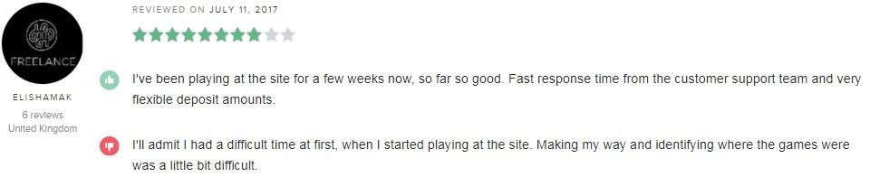 Vegas Rush Casino Player Review 4