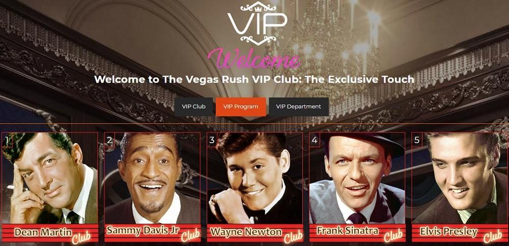 Vegas Rush Casino Rewards Program