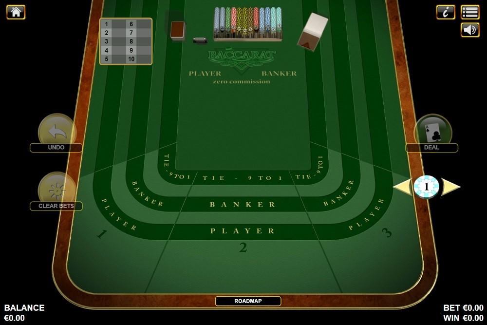 White Lion Casino Automated Baccarat