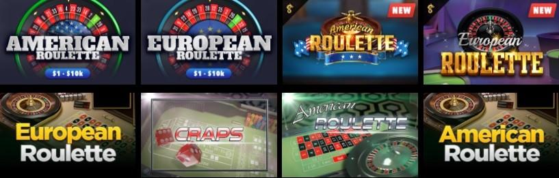 Wild Casino Automated Casino Table Games
