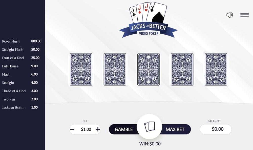 Wild Casino Automated Poker
