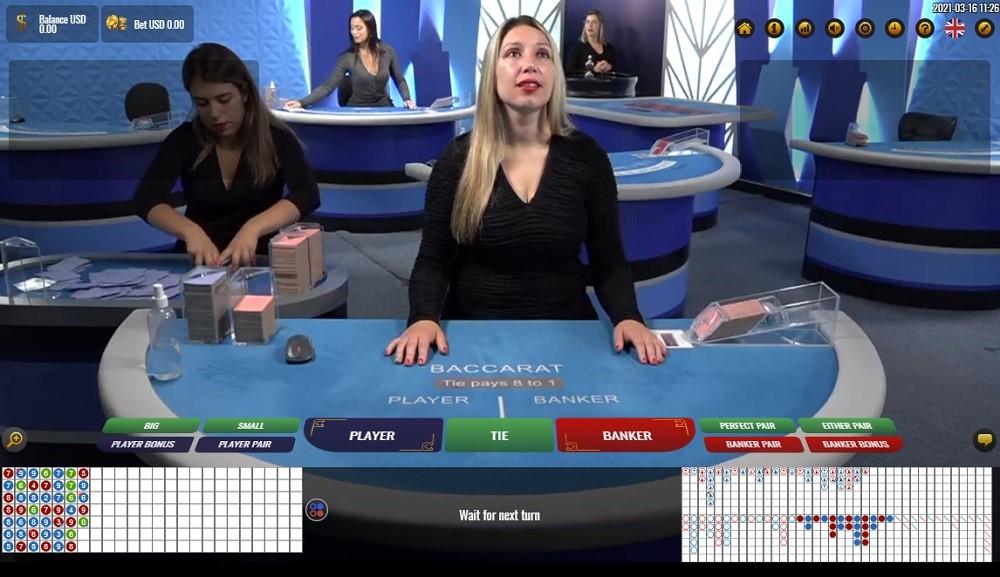 Wild Casino Live Baccarat