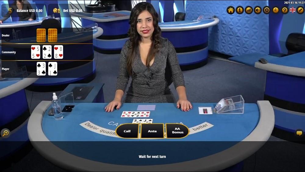 Wild Casino Live Poker