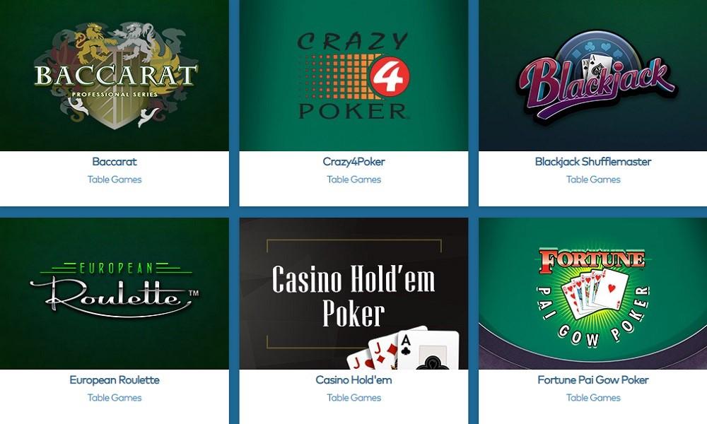 Yeti Casino Automated Casino Table Games