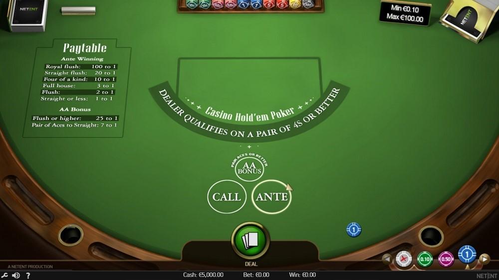 Yeti Casino Automated Poker