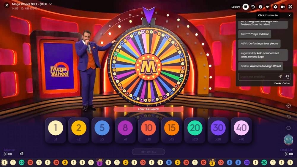 Yeti Casino Live Game Show