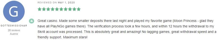 Yeti Casino Player Review 3