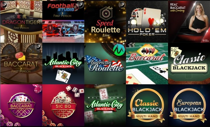 bCasino Automated Casino Table Games