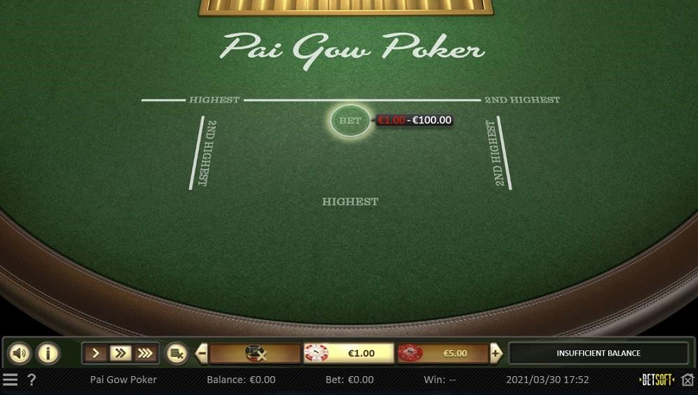 bCasino Automated Poker