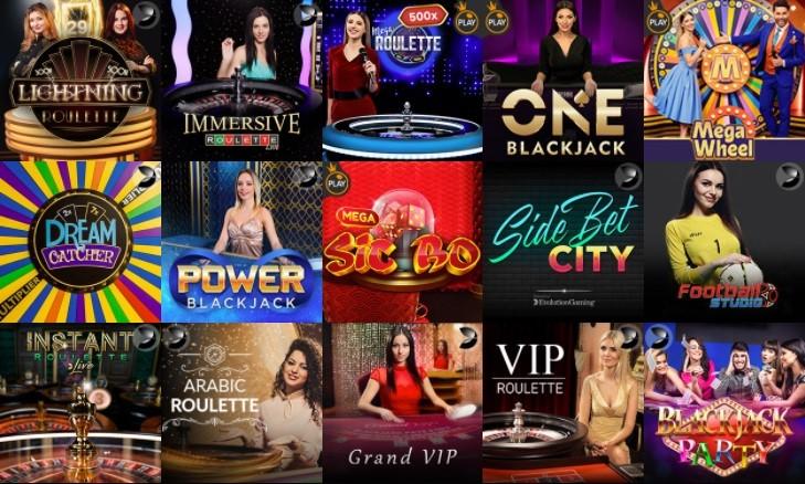 bCasino Live Casino Games