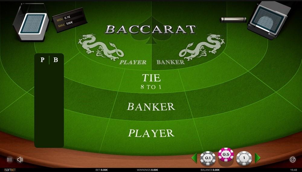 Betfirst Casino Automated Baccarat