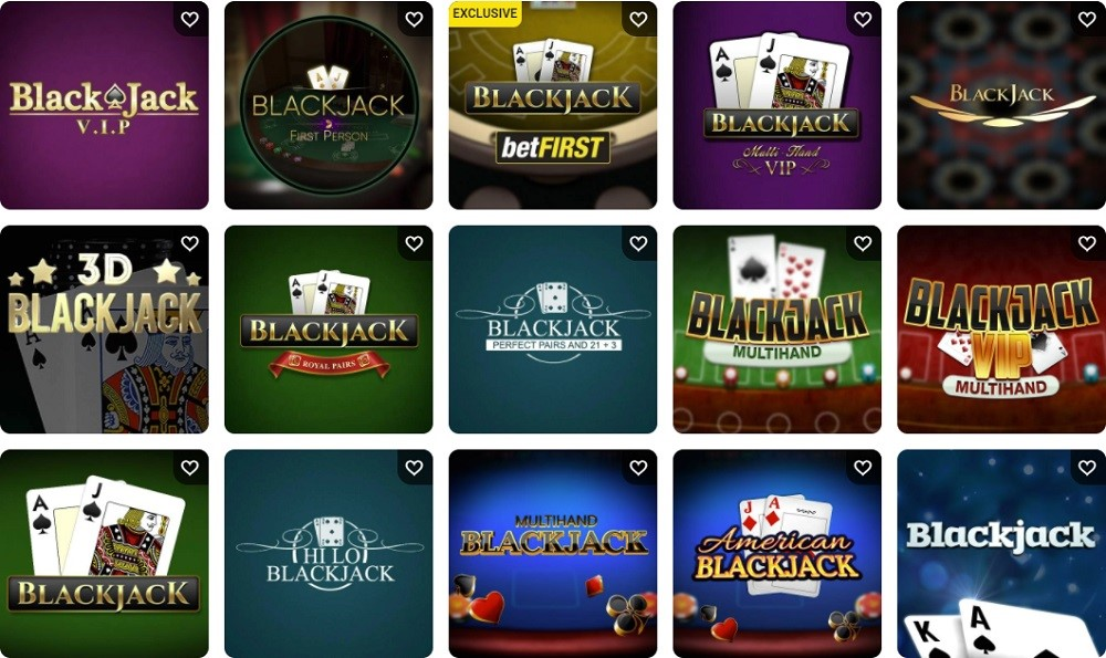 Betfirst Casino Automated Casino Table Games