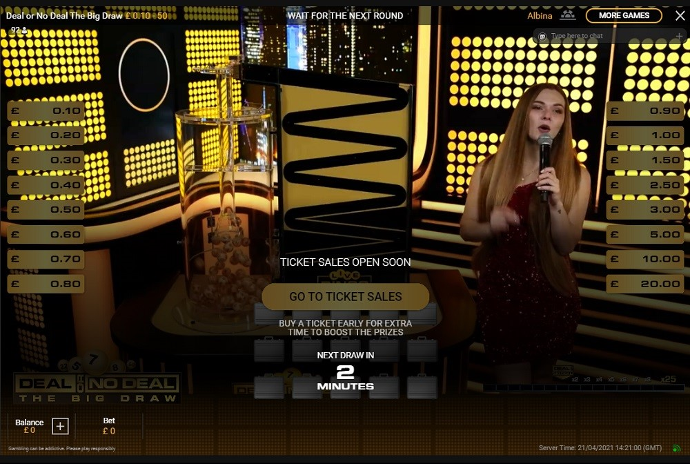 Bgo Casino Live Game Show