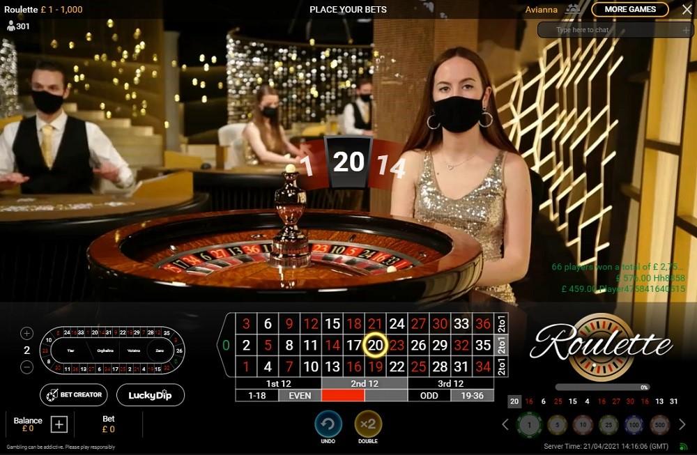 Bgo Casino Live Roulette