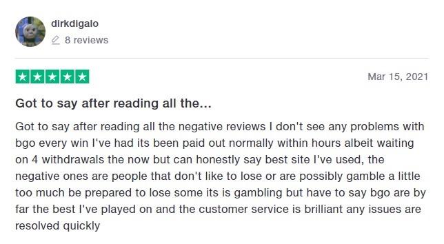 Bgo Casino Player Review 5
