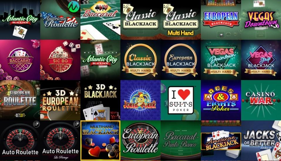 Boo Casino Automated Casino Table Games