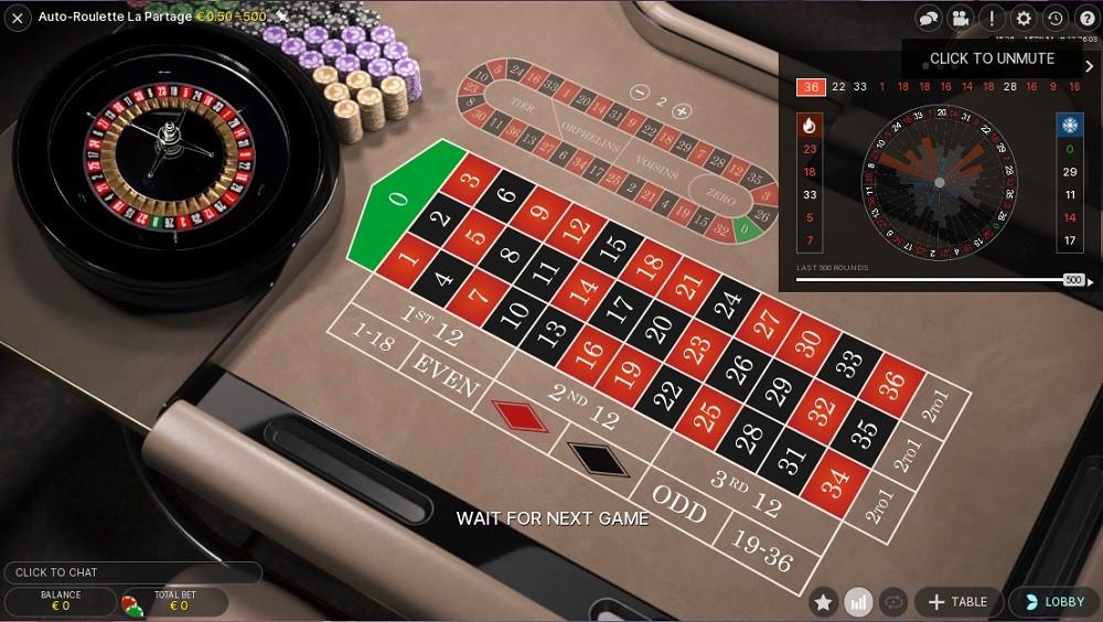 Boo Casino Automated Roulette