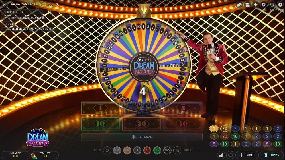 Boo Casino Live Game Show