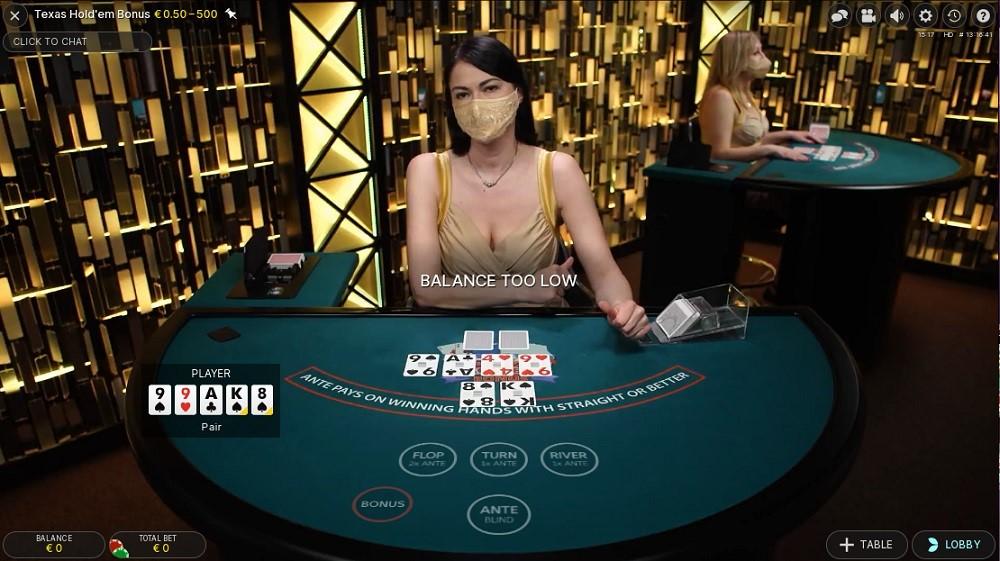 Boo Casino Live Poker