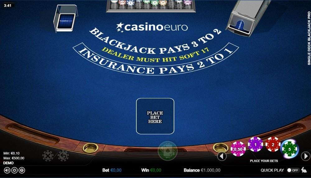 Casino Euro Automated Blackjack