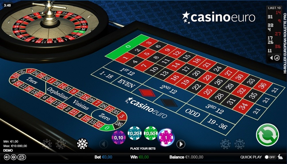 Casino Euro Automated Roulette