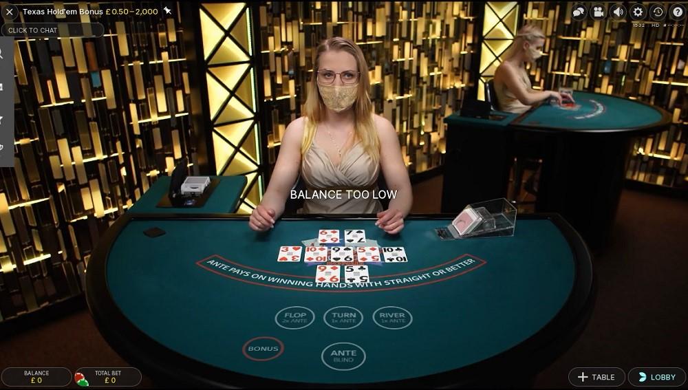 Casino Euro Live Poker